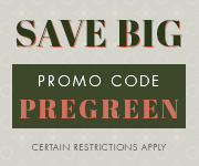 Save with promo code PREGREEN